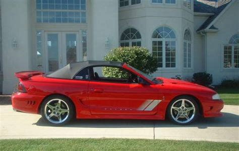 1997 Mustang Saleen S281 Supercharged Cobra #165