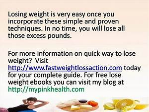 How To Lose Weight Rapidly Pro Ana - Weight Loss & Diet Plans