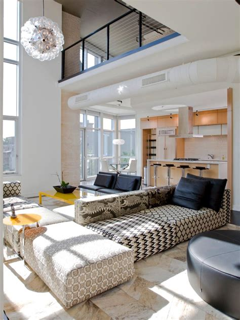 industrial style tv lift 8 ways to update your living room hgtv
