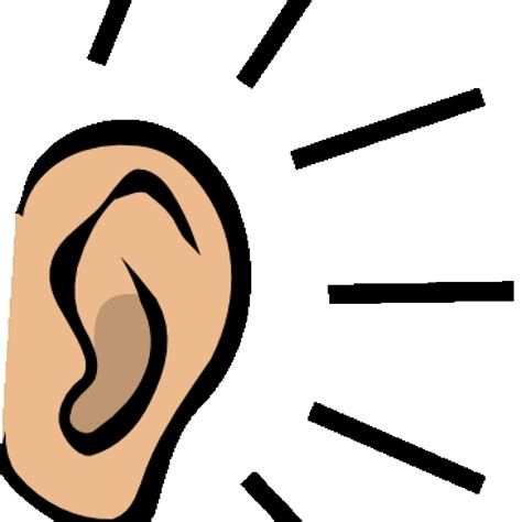 Ear Clip Listening Ears Clipart Free Birthday Hatenylo Stunning