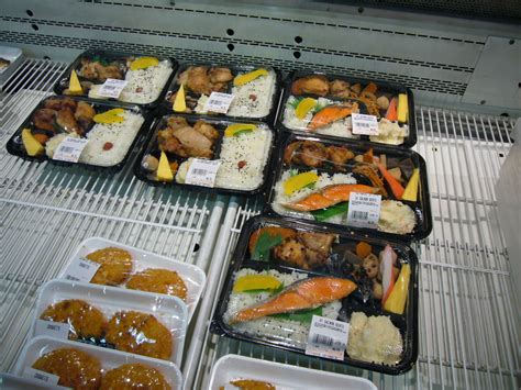 work lunch box file bento by florian at supermarket in san gabriel ca