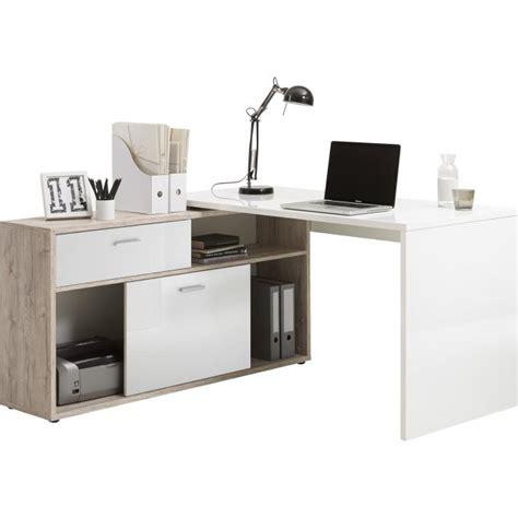 bureau angle avec rangement bureau d 39 angle avec rangements elsa design sur sofactory