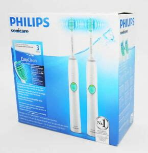 PHILIPS Sonicare HX6512/02 Easyclean - Doppelpack - weiss