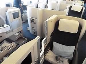 British Airways Boeing 777 Business Class seat 12K