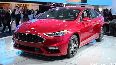 2017 Ford Fusion V6 Sport Design And Discussion