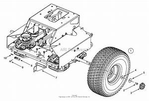 Mtd 13ad624g401  2001  Parts Diagram For Wheels Rear