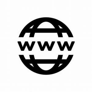 18 Black And White Website Icon Images - Black and White ...