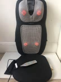 Homedics Chair Massager With Heat by Homedics Shiatsu 2in1 Back Shoulder Massager With Heat