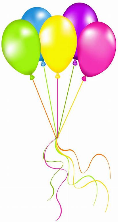 Neon Balloons Clipart Transparent Yopriceville
