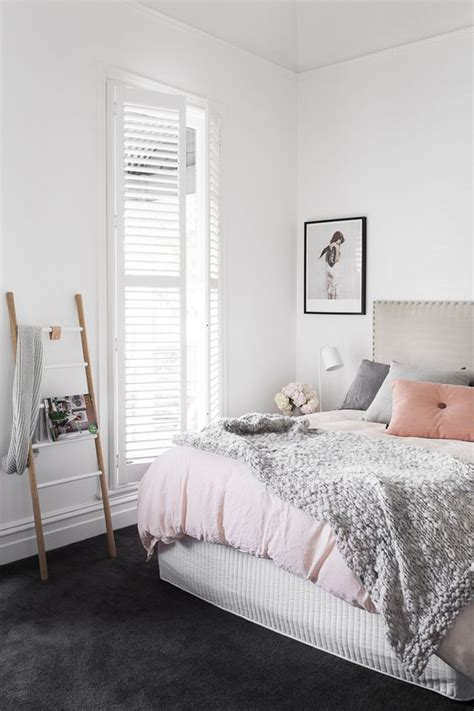 Gorgeous Gray And White Bedrooms by 9 Gorgeous White Grey And Pink Interiors That Make You