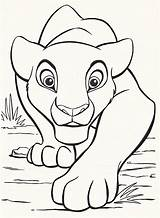 Lion King Coloring Disney Pages Characters sketch template