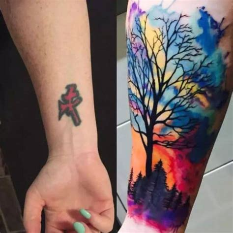 amazing tattoos cover ups
