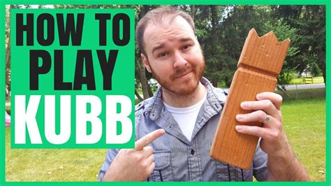 How To Play Kubb Lawn Game  Rules, Strategy And More