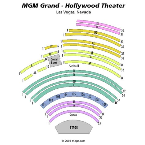 Mgm Grand Ka Floor Plan by Kenny G March 10 Tickets Las Vegas Mgm Grand