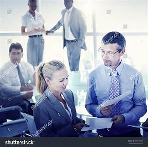 Business People Meeting Discussion Corporate Team Stock ...