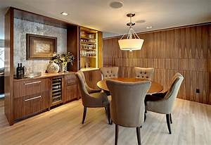 25 dining room cabinet designs decorating ideas design With kitchen cabinets lowes with contemporary dining room wall art