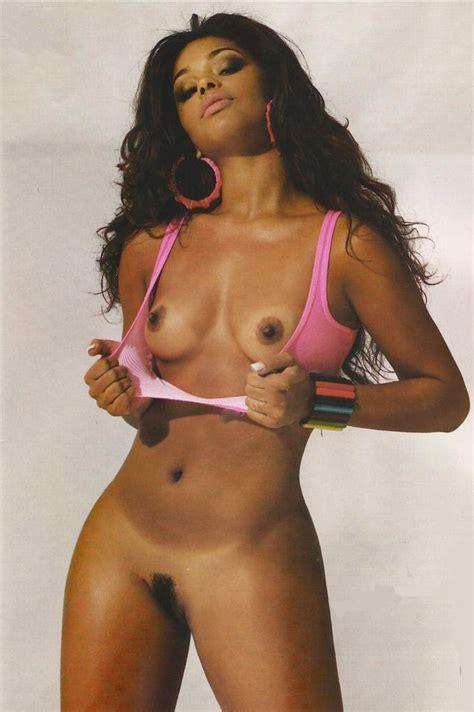 Naked Juliana Alves in Playboy Brasil
