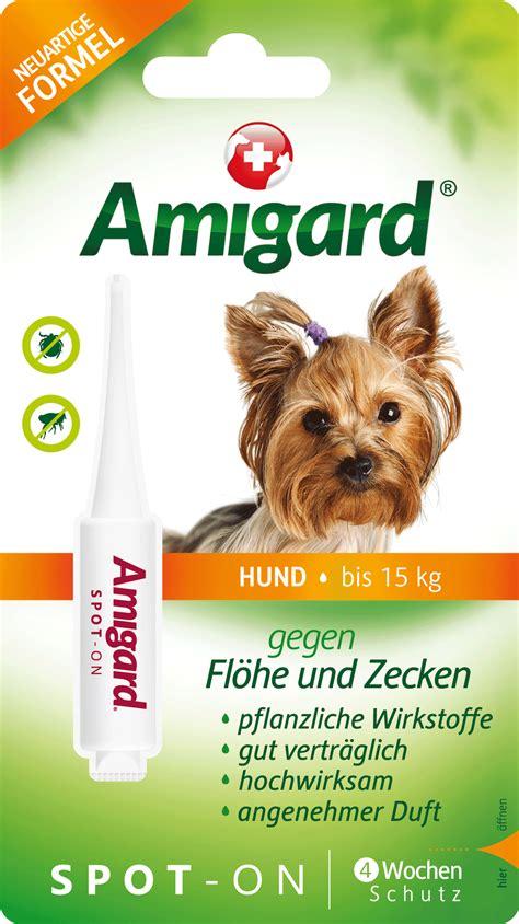amigard spot  hunde bis zu  kg   ml guenstig bei