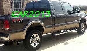 Matte Black Oe Style Fender Flares 1999-2007 Ford F250    F350 Fx4