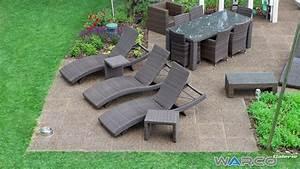 Prix Des Dalles De Jardin : carrelage terrasse dalle en caoutchouc warco ~ Premium-room.com Idées de Décoration