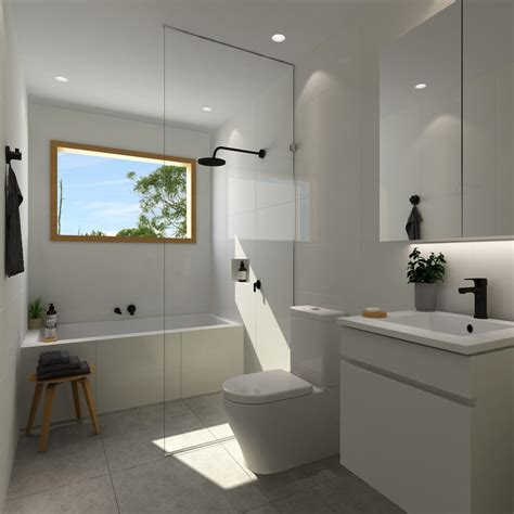 white bathroom designs the blue space bathrooms kitchens and laundries 1008