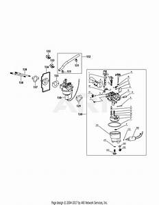 Mtd 13w277ss231 Lt 4200  2015  Parts Diagram For 4p90hua Carburetor Assembly