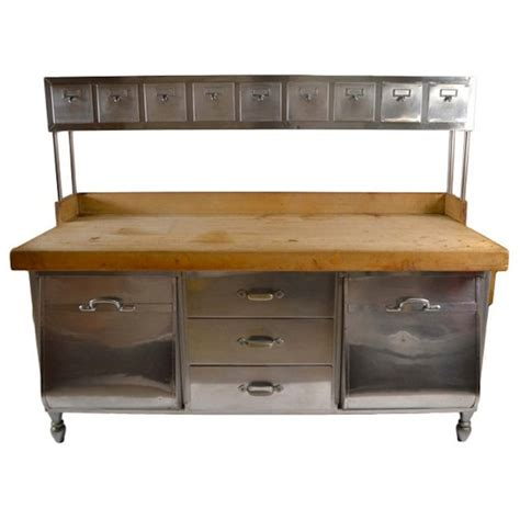 commercial kitchen furniture industrial stainless steel and wood kitchen work station