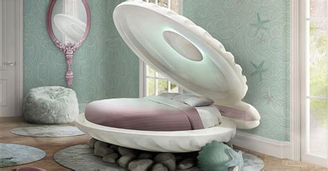 mermaid shell bed  circu furniture