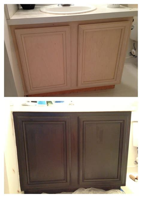 Gel Stain Cabinets Home Depot by Guest Bathroom General Finishes Java Gel Stain Java Gel