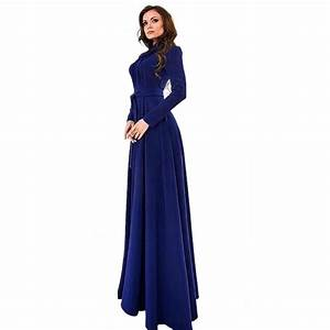 summer style beach dress women long sleeve maxi dress With robe longue manche longue hijab