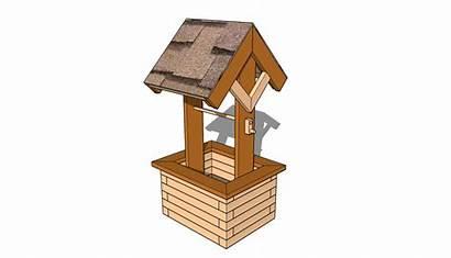 Wishing Well Plans Planter Diy Outdoor Wooden