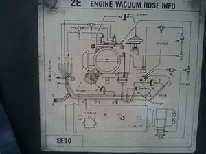 Help  Toyota 2e Distributor Vacuum Advance
