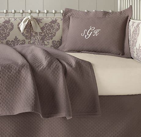 crib bedding from restoration hardware nursery pinterest