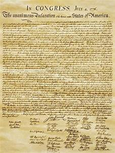 Why was the Declaration of Independence written?