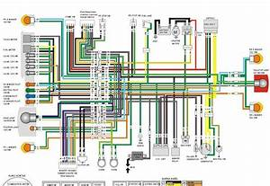 Blognya Iyuss  Diagram Kelistrikan   Wiring Diagram Honda Tiger Revo