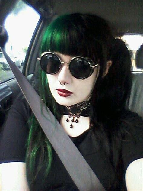 25 Best Ideas About Dark Green Hair On Pinterest