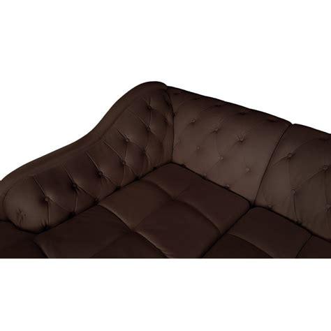 canapé d angle marron canapé d 39 angle gauche 5 places marron cuir simili pas cher