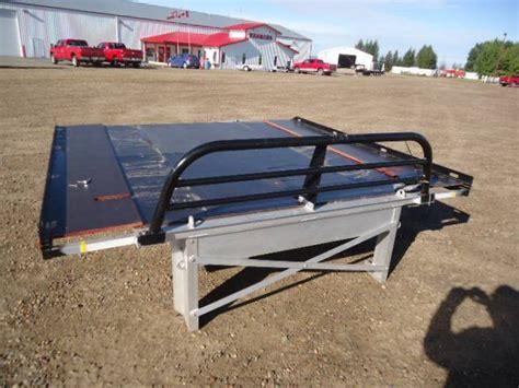 aluminum sled deck plans 2014 denali 8 aluminum sled deck kramer trailer sales