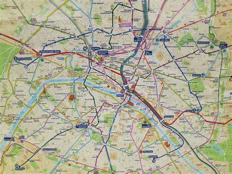 Carte Rer Parisien by Metro Rer Map Mikestravelguide