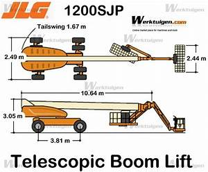 JLG 1200SJP - JLG - Machinery Specifications - Machinery