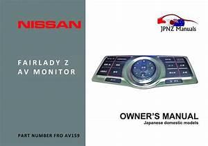 Nissan Elgrand E50 Workshop Manual