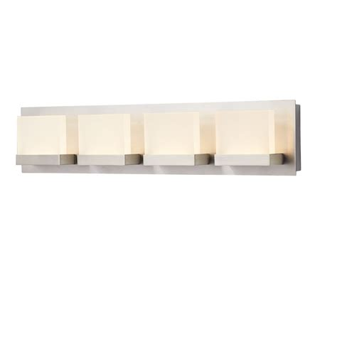 home depot bathroom vanity lights home decorators collection 4 light brushed nickel bathbar
