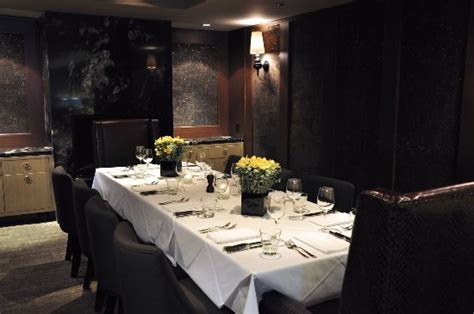 Private Dining Room  Picture Of Black + Blue, Vancouver
