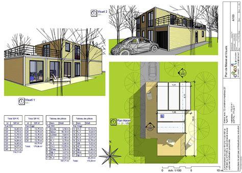plan de maison gratuit 4 chambres plan de maison moderne gratuit pdf prix abordable maison