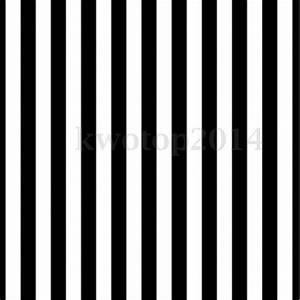 8x8FT Vinyl Black White Stripes Backdrop Photography ...