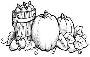 Fall Coloring Contest Pages