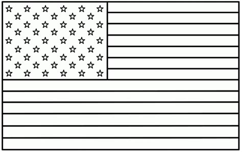 american flag coloring pages  coloring pages  kids