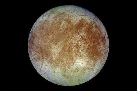 Europa - Jupiter's moon, satellite, ice planet, subsurface ...
