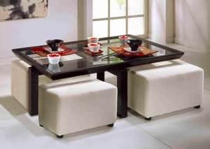 Table Basse Pouf Intégré : meubles tables basses 32 ~ Dallasstarsshop.com Idées de Décoration