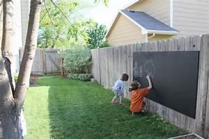 Schaukel Für Erwachsene Garten : kreativit t im garten f r kinder und erwachsene gardenidee outdoor chalkboard kid friendly ~ Watch28wear.com Haus und Dekorationen